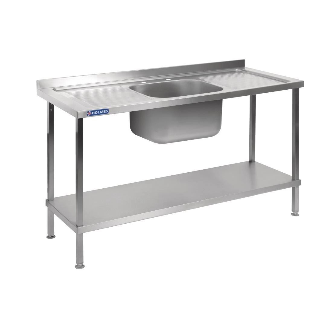 Holmes Stainless Steel Sink Double Drainer 1800mm - DR397